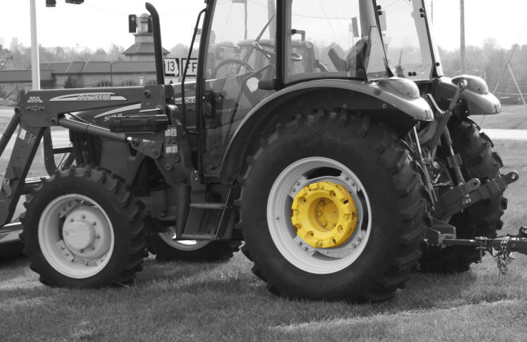 black-white-tractor